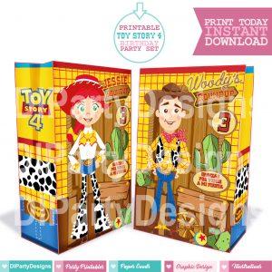 Toy Story 4 Bolsitas personalizadas