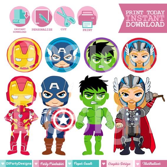 Avengers Imprimibles